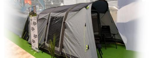 Die neuen Outwell-Busvorzelte - Caravan Salon