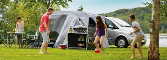 Mit Sack und Pack: Camping mit der ganzen Familie