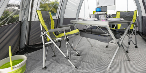 Brunner Camping Table Titanium NG 4 is best in test