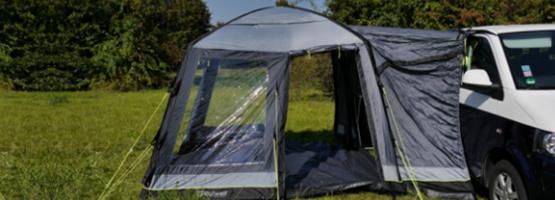 Zelt reinigen - so geht's