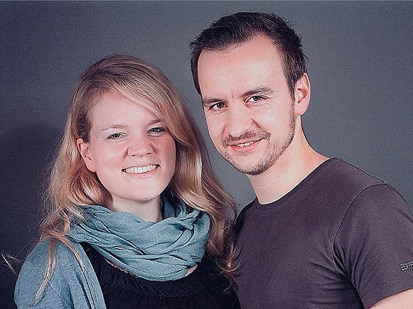 Kerstin und Christian vom SpaceCamper-Shop