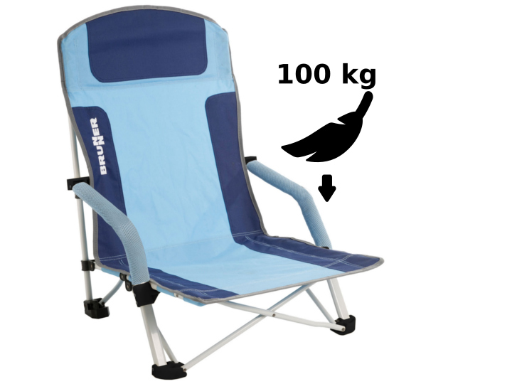 Für Fliegengewichte: Diese Stühle sind mindestens bis 100 kg belastbar