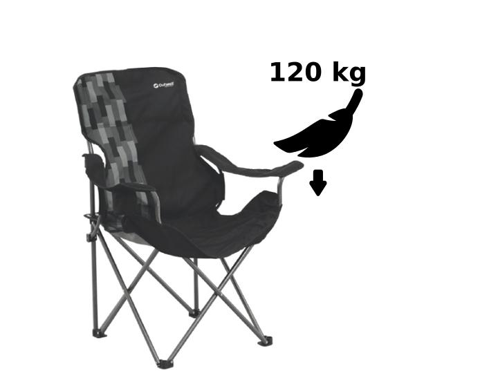 Für alle: Bei 120 kg und mehr Belastbarkeit ist auch ein Kind auf dem Schoß kein Problem