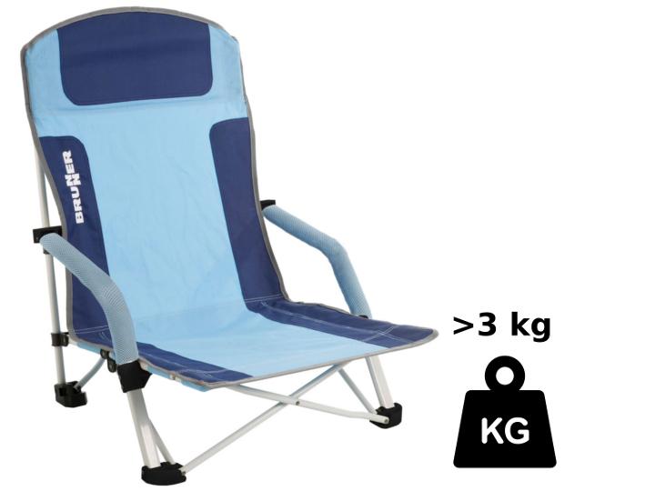 Leichtgewichte: Diese Stühle mit 3 und 4 kg Gewicht lassen sich leicht an einsame Strände tragen