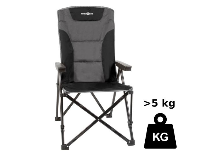 Die Kräftigen: Bei mehr als 5 kg Gewicht bieten diese Stühle mehr Stabilität und eine festere Polsterung