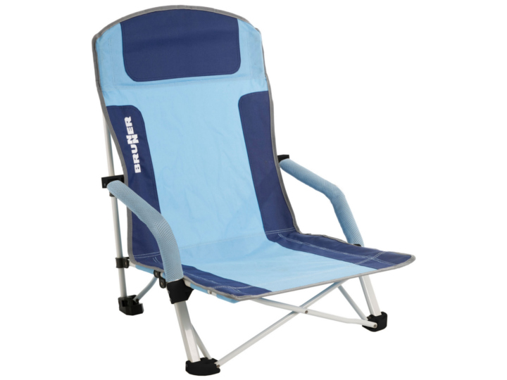 Für Sonnengenießer: Mit standfesten Füßen und langer Rückenlehne für einen sorglosen Tag am Strand