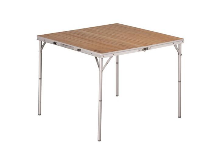 Quadratisch, praktisch, gut: Die Oberfläche ist größer als bei manch rechteckigem Tisch