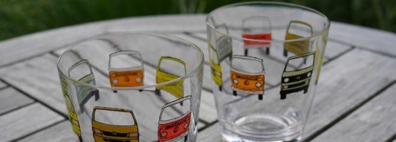 Wieder da: Kult-Bulli-Gläser im Dezember gratis