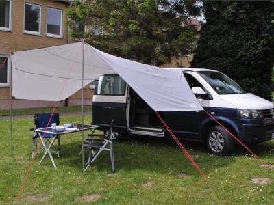 Der Klassiker von ReimoDas Sonnensegel Mauritius L für VW Busse und andere Campingvans