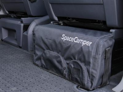 Zip und wegMit der SpaceCamper Geschirrtasche ist alles gut verstaut und schnell griffbereit!