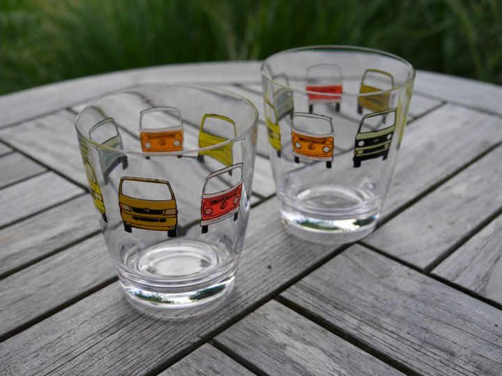 Our recommendation: Camper Van glasses!
