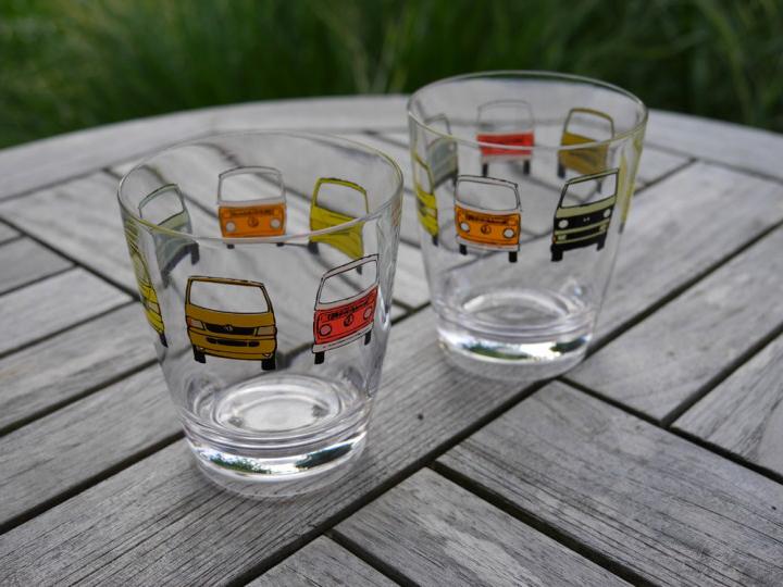 Unsere Empfehlung: die Kult-Bulli-Gläser!
