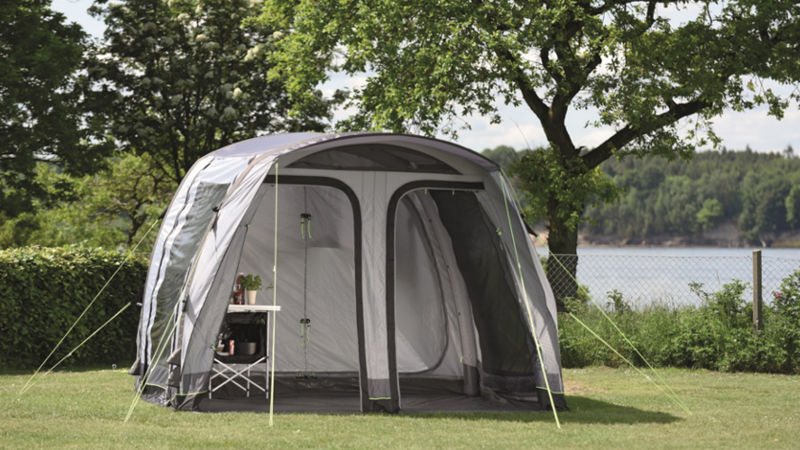 More Space for the Family The new drive-away awnings from Outwell