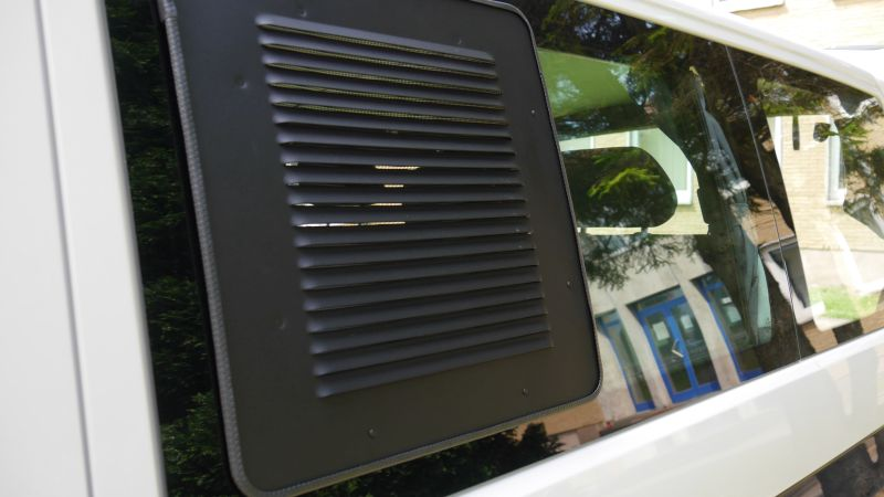 Fresh air - no bugs Keep your van cool at night