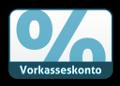 2% Skonto Vorkasse